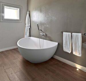 Freistehende Badewanne klein