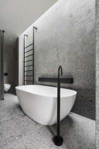 Bäder mit freistehender Badewanne