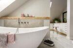 Freistehende Badewanne 170x70
