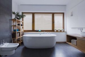 Villeroy und Boch freistehende Badewanne